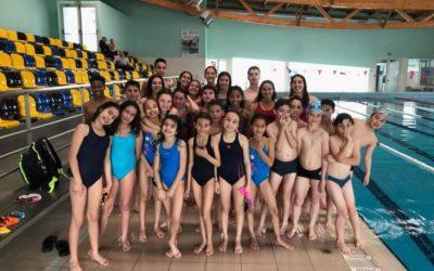 Mini estágio para os nadadores de Pré-treino, Cadetes e Infantis