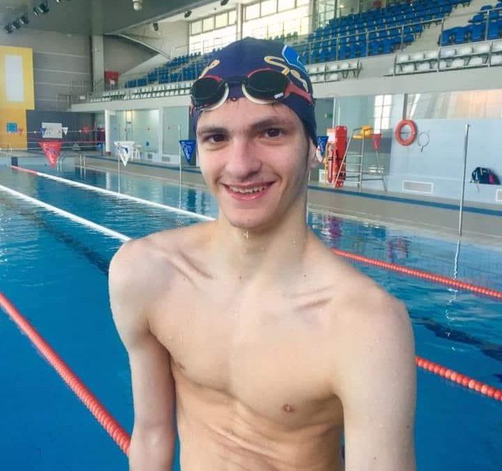 Rodolfo Castanheira nos Jogos Paralímpicos Europeus da Juventude
