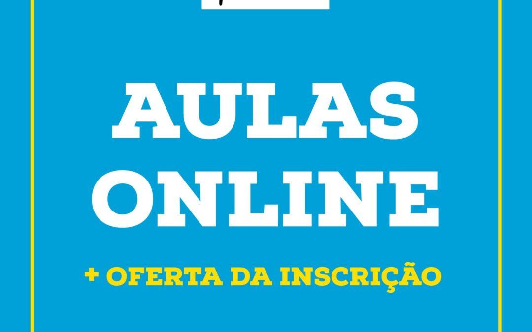 AULAS ONLINE + OFERTA DA INSCRIÇÃO